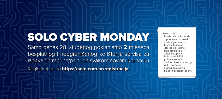 Solo Cyber Monday